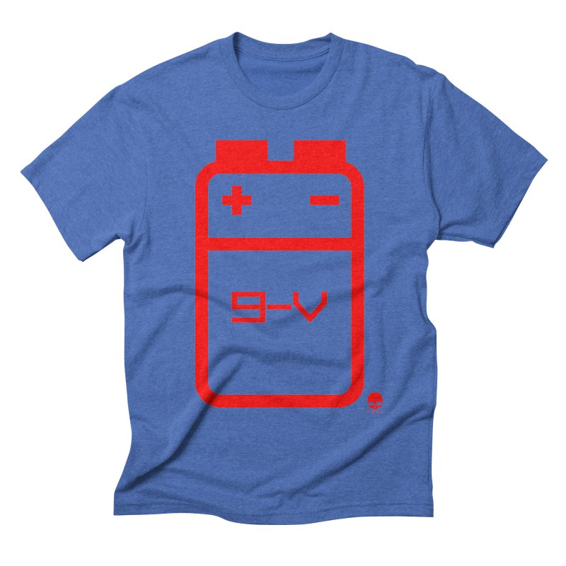 THE BATTERY: CHERRY Men's Triblend T-Shirt by NIN3VOLT