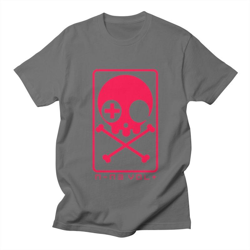 NIN3VOLT CROSSBONES: LICORICE Men's T-shirt by NIN3VOLT