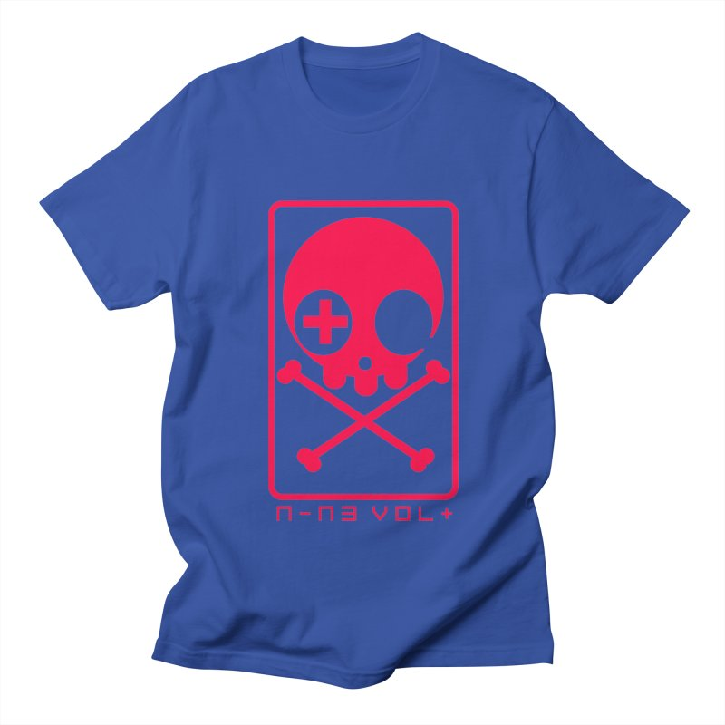 NIN3VOLT CROSSBONES: LICORICE Women's Unisex T-Shirt by NIN3VOLT