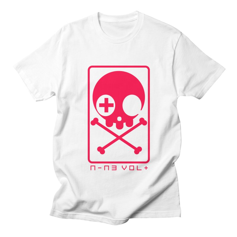 NIN3VOLT CROSSBONES: LICORICE Women's Unisex T-Shirt by NIN3VOLT
