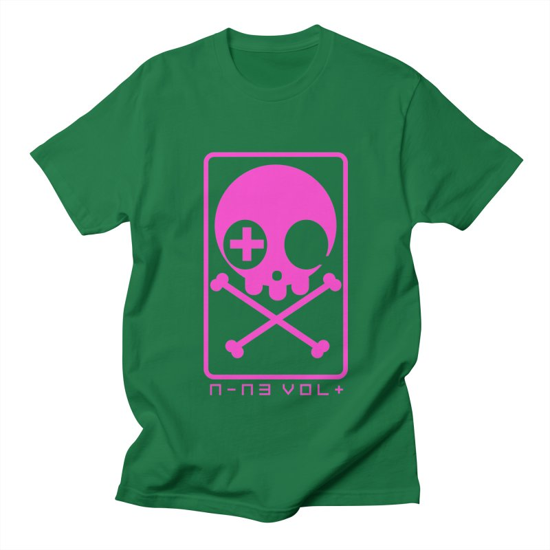 NIN3VOLT CROSSBONES: DRAGONFRUIT Men's T-shirt by NIN3VOLT