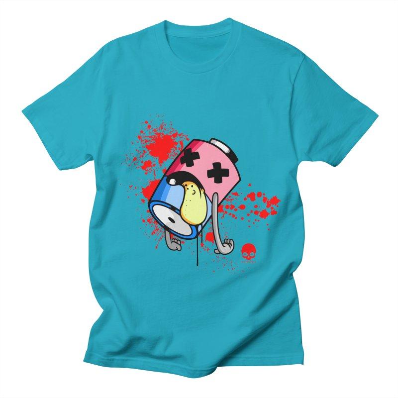 NIN3VOLT: DEAD BATTERY  Men's T-Shirt by NIN3VOLT