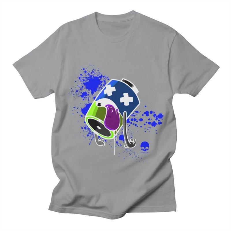 NIN3VOLT: DEAD BATTERY 2.0  Men's T-shirt by NIN3VOLT