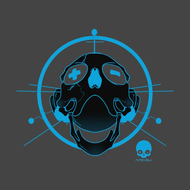 ANTENNA SKULL: ELECTRIC BLUE by NIN3VOLT