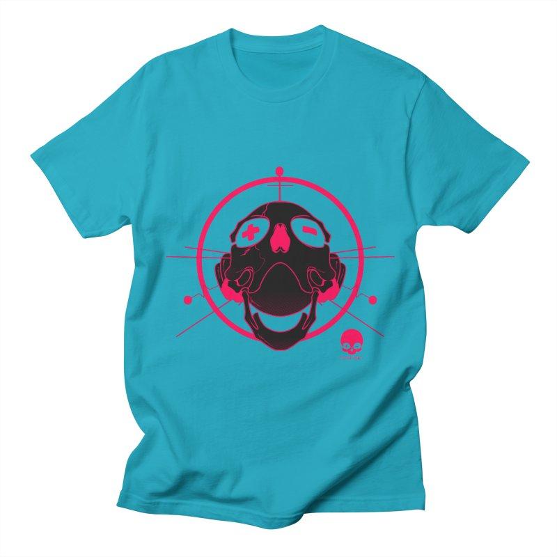 ANTENNA SKULL: WILD RAZZBERRY Women's Unisex T-Shirt by NIN3VOLT