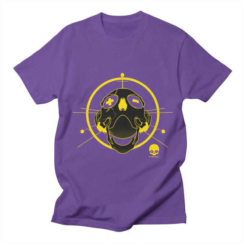 ANTENNA SKULL: LEMON Men's T-Shirt by NIN3VOLT