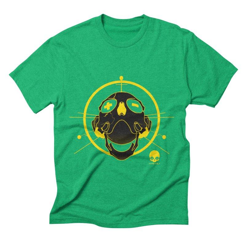 ANTENNA SKULL: LEMON Men's Triblend T-Shirt by NIN3VOLT