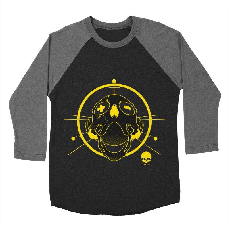 ANTENNA SKULL: LEMON Women's Baseball Triblend T-Shirt by NIN3VOLT