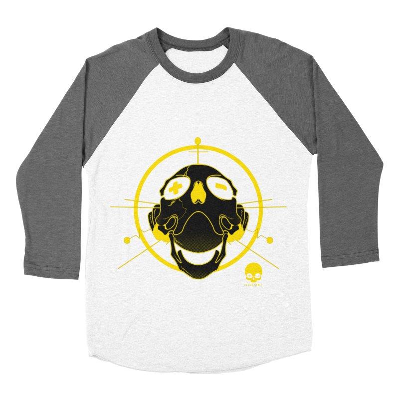 ANTENNA SKULL: LEMON Men's Baseball Triblend T-Shirt by NIN3VOLT