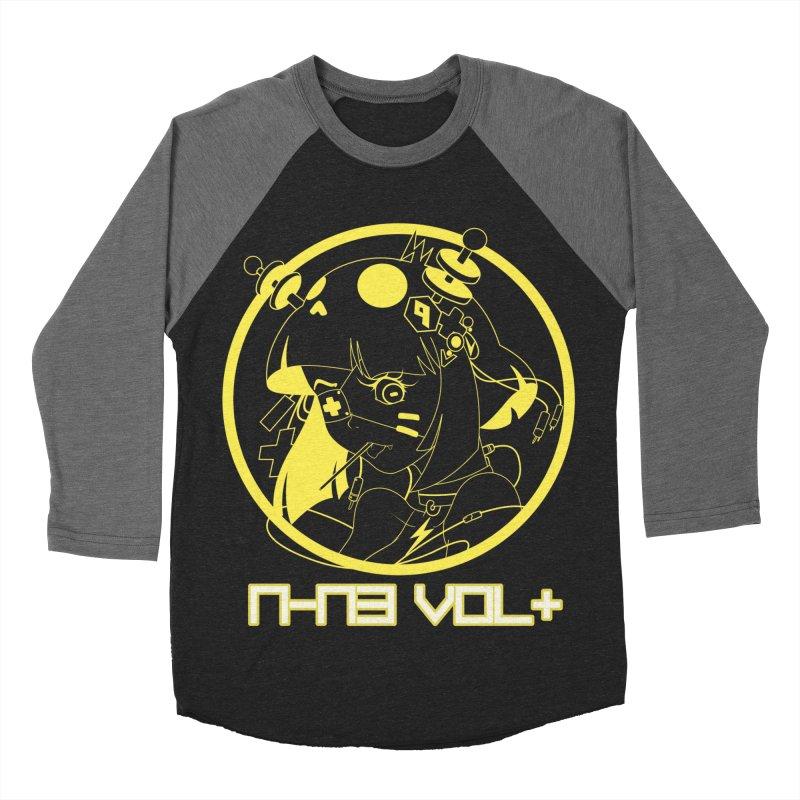 NIN3VOLT: OTAKU TIME!! PINEAPPLE Women's Baseball Triblend T-Shirt by NIN3VOLT