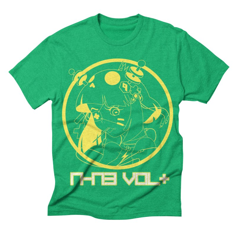 NIN3VOLT: OTAKU TIME!! PINEAPPLE Men's Triblend T-shirt by NIN3VOLT