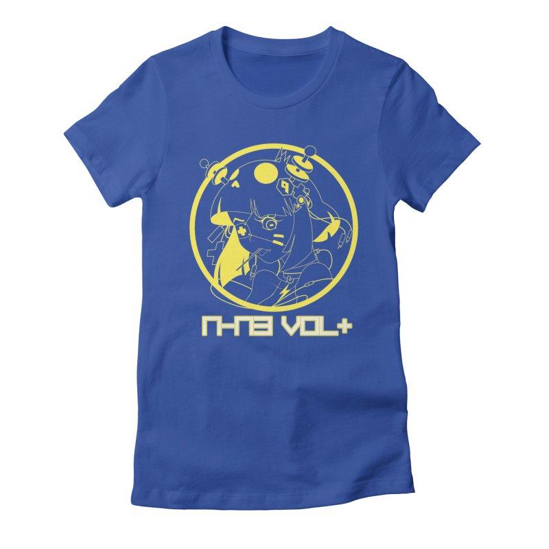 NIN3VOLT: OTAKU TIME!! PINEAPPLE Women's Fitted T-Shirt by NIN3VOLT