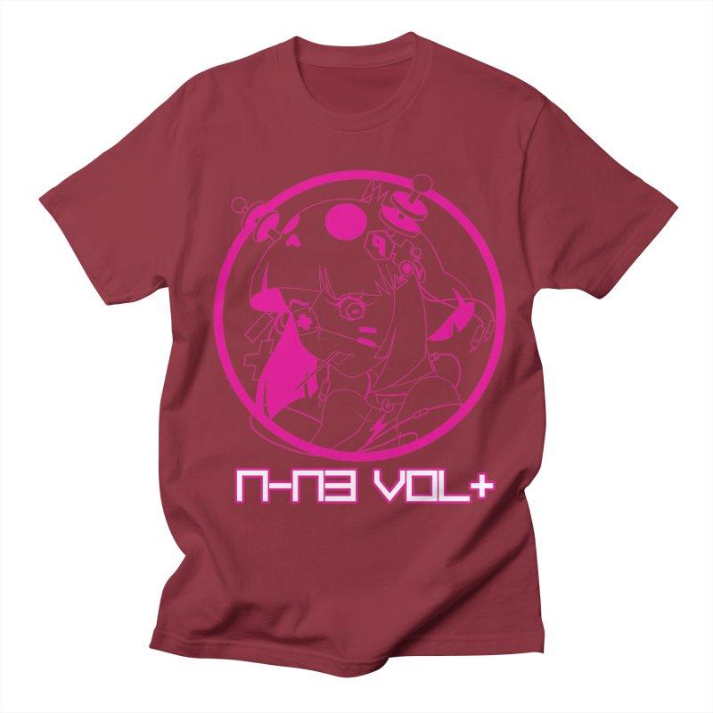 NIN3VOLT: OTAKU TIME!! PLUM Men's T-shirt by NIN3VOLT