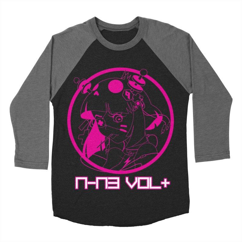 NIN3VOLT: OTAKU TIME!! PLUM Women's Baseball Triblend T-Shirt by NIN3VOLT