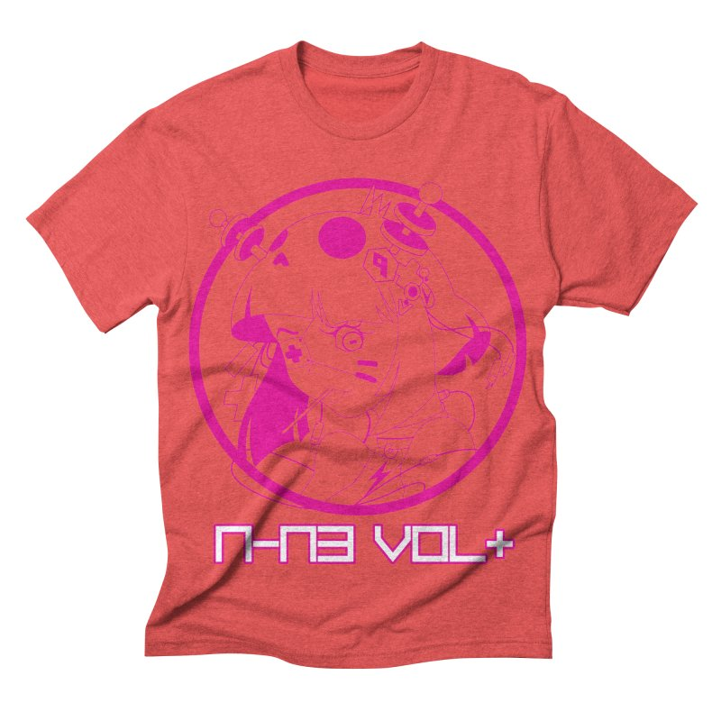 NIN3VOLT: OTAKU TIME!! PLUM Men's Triblend T-shirt by NIN3VOLT