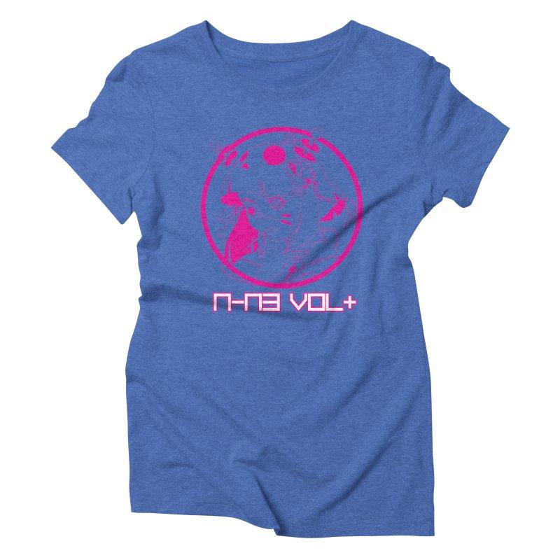 NIN3VOLT: OTAKU TIME!! PLUM Women's Triblend T-shirt by NIN3VOLT