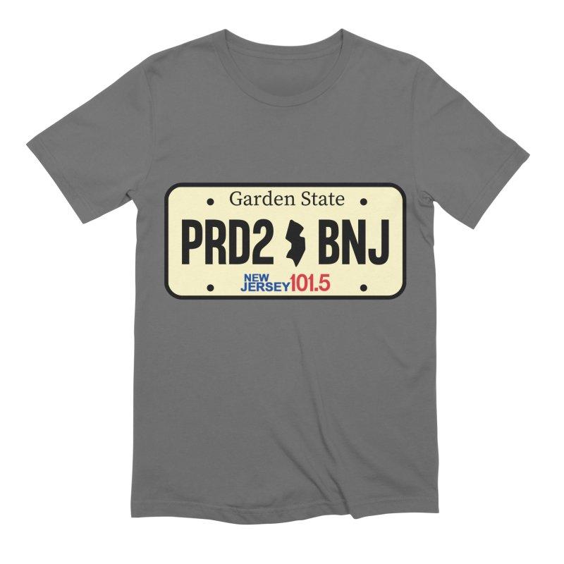 NJ101.5 License Plate Men's T-Shirt by NJ101.5's Artist Shop