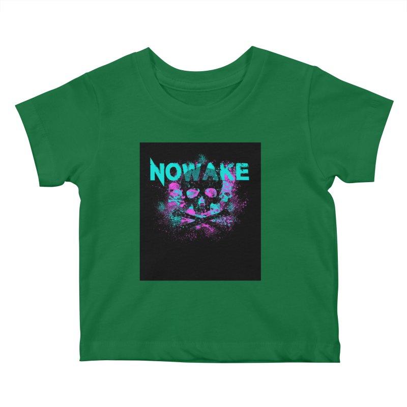 NOWAKE 2019 Girly Skull Kids Baby T-Shirt by NOWAKE's Artist Shop