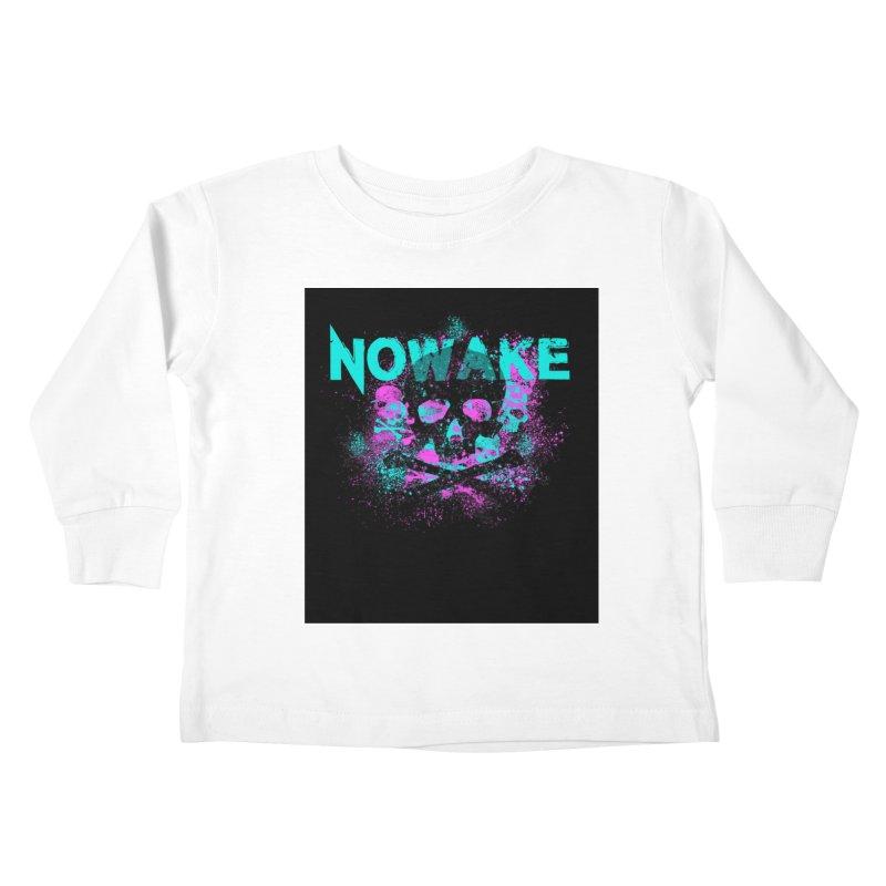 NOWAKE 2019 Girly Skull Kids Toddler Longsleeve T-Shirt by NOWAKE's Artist Shop