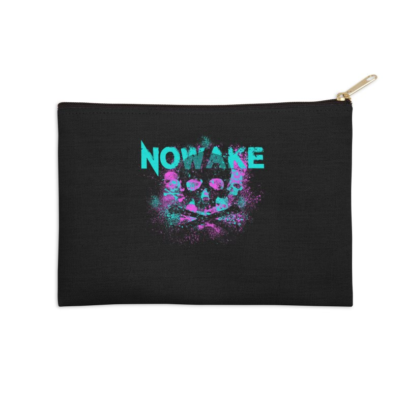 NOWAKE 2019 Girly Skull Accessories Zip Pouch by NOWAKE's Artist Shop