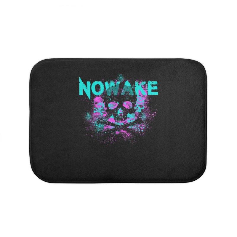 NOWAKE 2019 Girly Skull Home Bath Mat by NOWAKE's Artist Shop