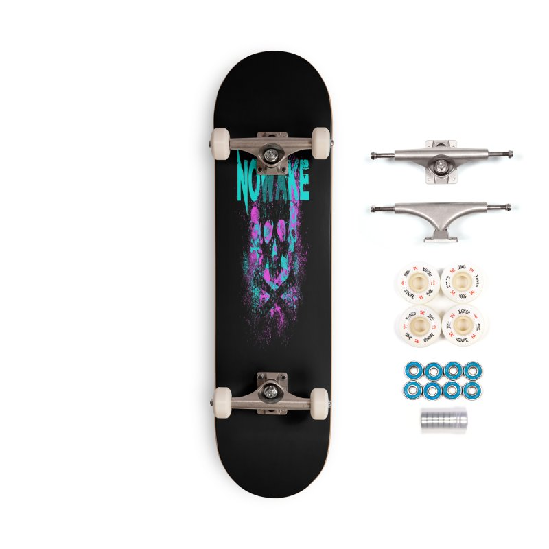 NOWAKE 2019 Girly Skull Accessories Complete - Premium Skateboard by NOWAKE's Artist Shop