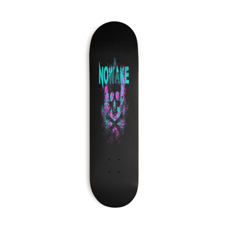 NOWAKE 2019 Girly Skull Accessories Deck Only Skateboard by NOWAKE's Artist Shop