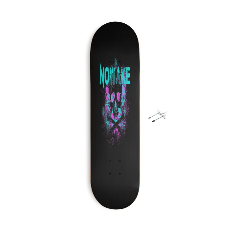 NOWAKE 2019 Girly Skull Accessories With Hanging Hardware Skateboard by NOWAKE's Artist Shop