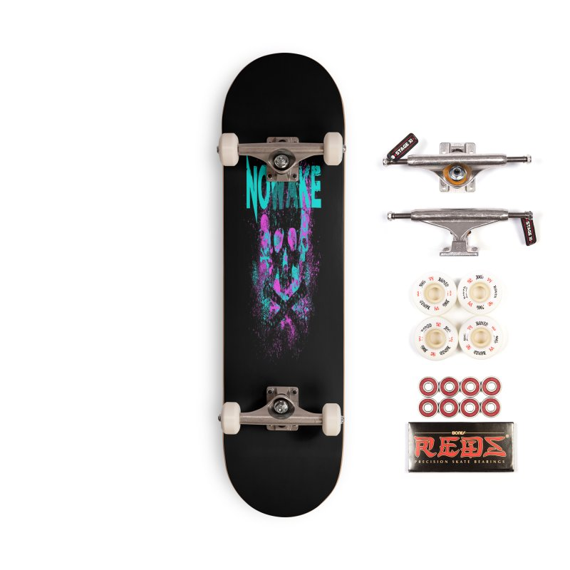 NOWAKE 2019 Girly Skull Accessories Complete - Pro Skateboard by NOWAKE's Artist Shop