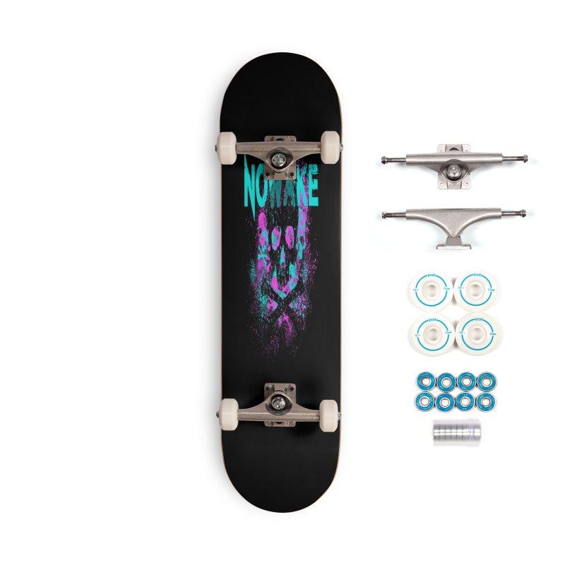 NOWAKE 2019 Girly Skull Accessories Complete - Basic Skateboard by NOWAKE's Artist Shop