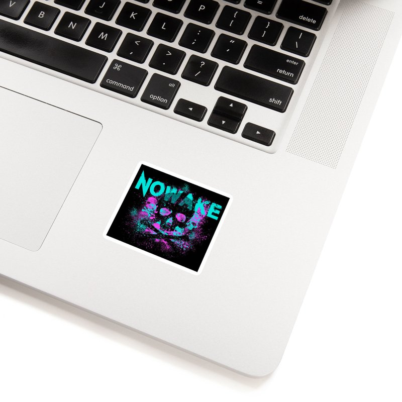 NOWAKE 2019 Girly Skull Accessories Sticker by NOWAKE's Artist Shop