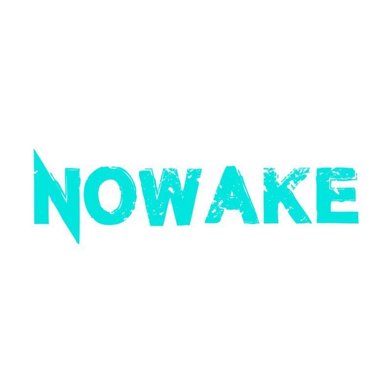 NOWAKE Teal Logo Home Fine Art Print by NOWAKE's Artist Shop
