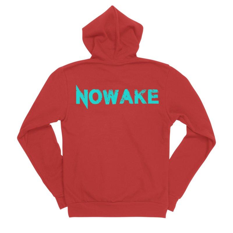 NOWAKE Teal Logo Women's Zip-Up Hoody by NOWAKE's Artist Shop