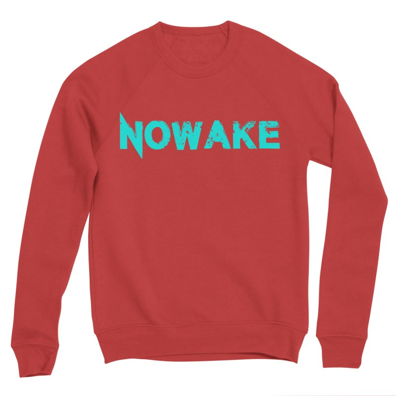 NOWAKE Teal Logo Women's Sponge Fleece Sweatshirt by NOWAKE's Artist Shop