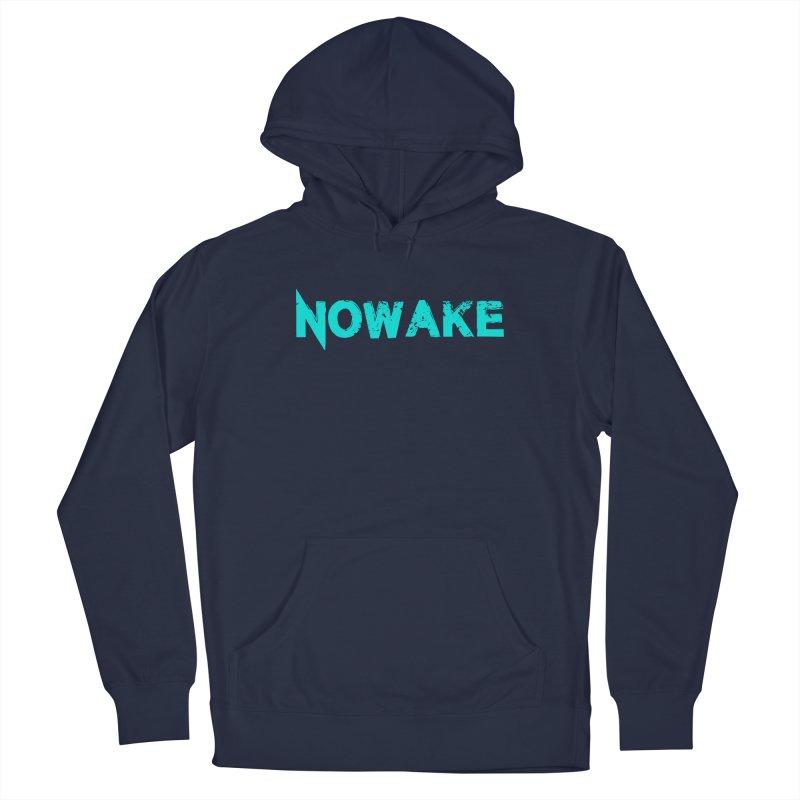 NOWAKE Teal Logo Men's Pullover Hoody by NOWAKE's Artist Shop
