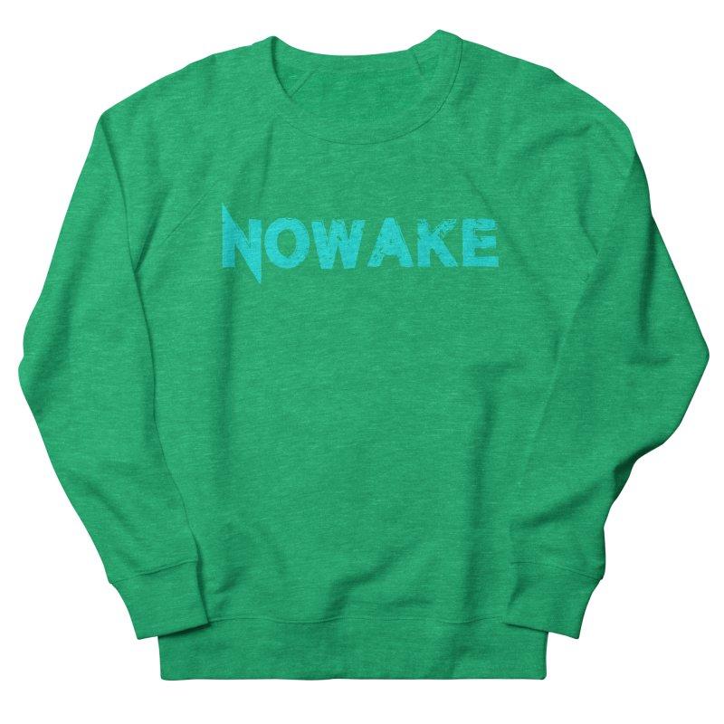 NOWAKE Teal Logo Women's Sweatshirt by NOWAKE's Artist Shop