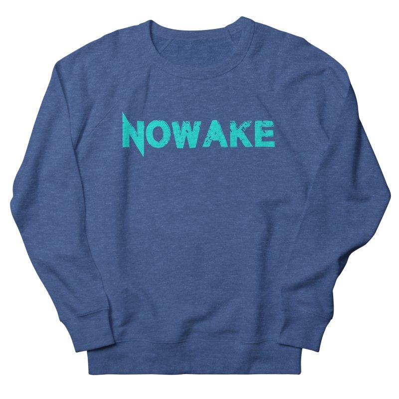 NOWAKE Teal Logo Men's Sweatshirt by NOWAKE's Artist Shop
