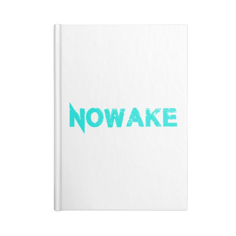 NOWAKE Teal Logo Accessories Notebook by NOWAKE's Artist Shop