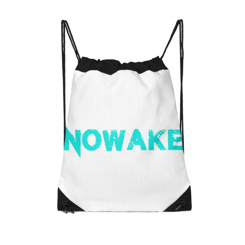 NOWAKE Teal Logo Accessories Bag by NOWAKE's Artist Shop