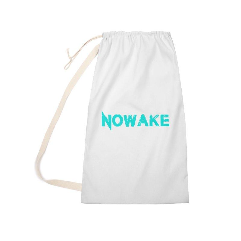 NOWAKE Teal Logo Accessories Bag by NOWAKE's Artist Shop