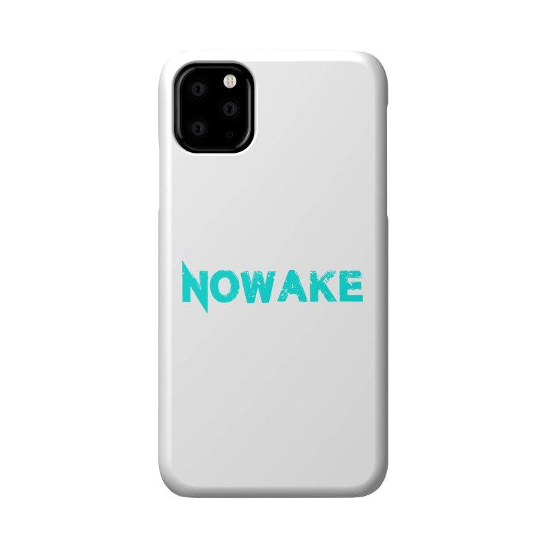 NOWAKE Teal Logo Accessories Phone Case by NOWAKE's Artist Shop