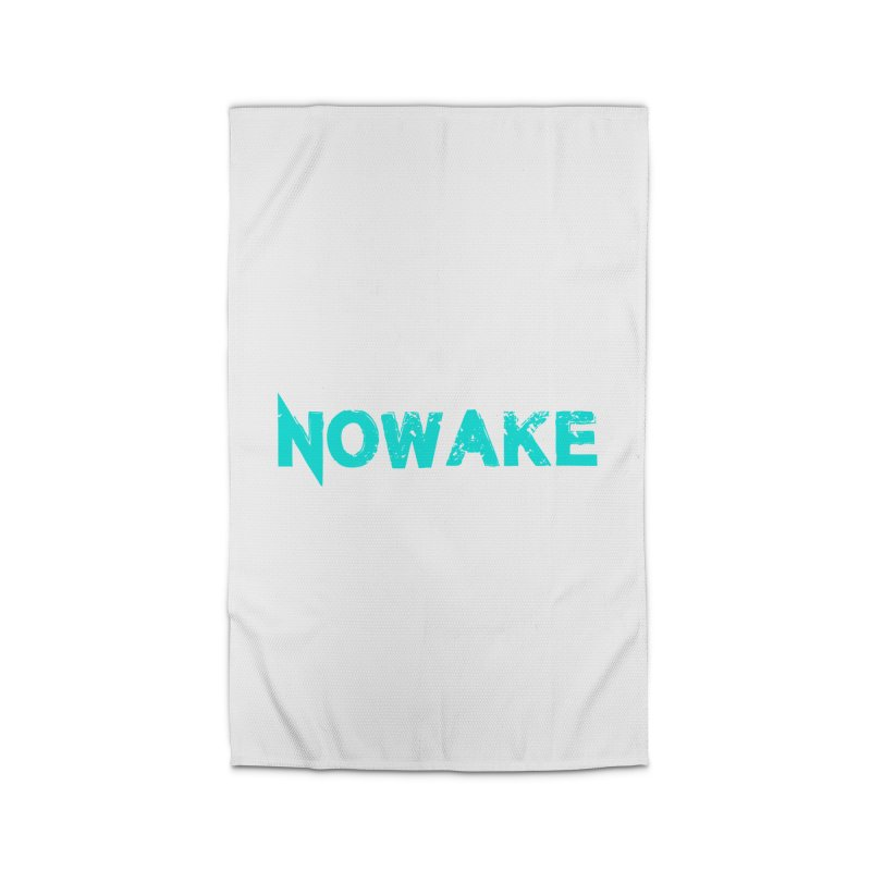 NOWAKE Teal Logo Home Rug by NOWAKE's Artist Shop