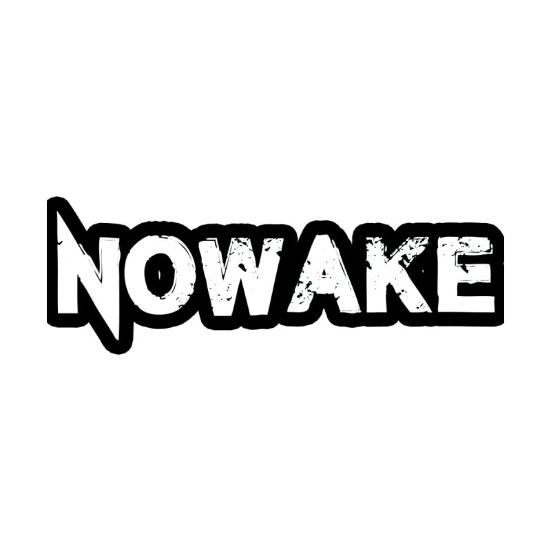 NOWAKE Black Outline Logo Women's Sweatshirt by NOWAKE's Artist Shop
