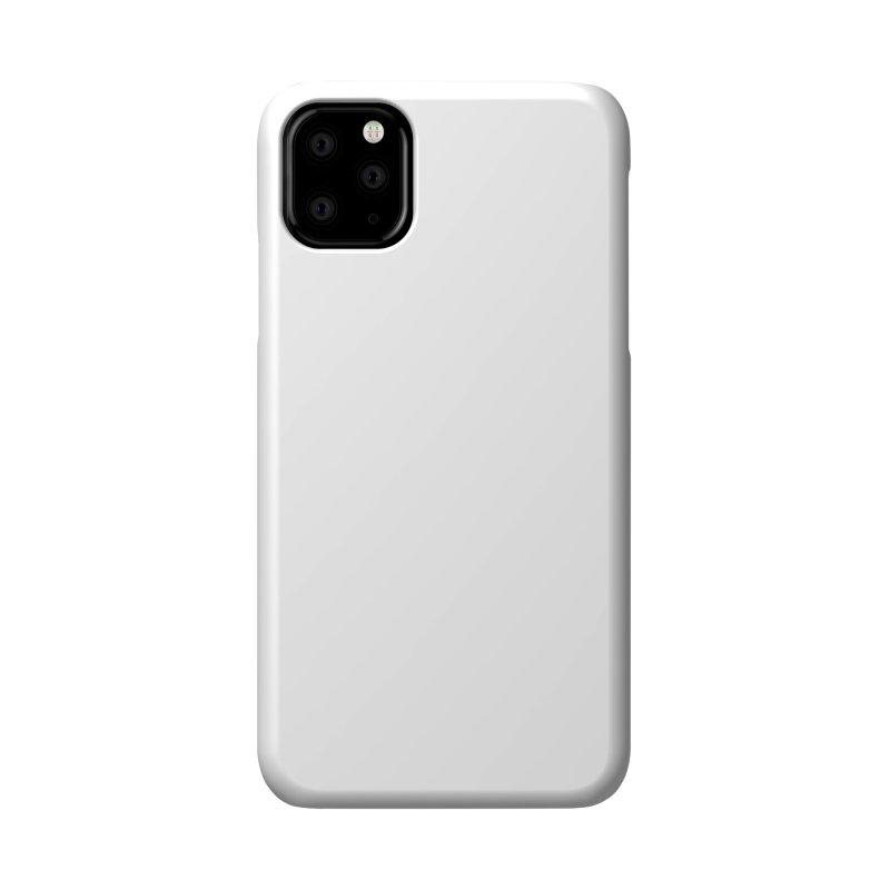 NOWAKE White Sideways Logo Accessories Phone Case by NOWAKE's Artist Shop