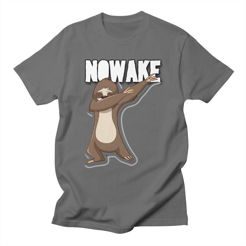 NOWAKE Dabbing Sloth Women's T-Shirt by NOWAKE's Artist Shop