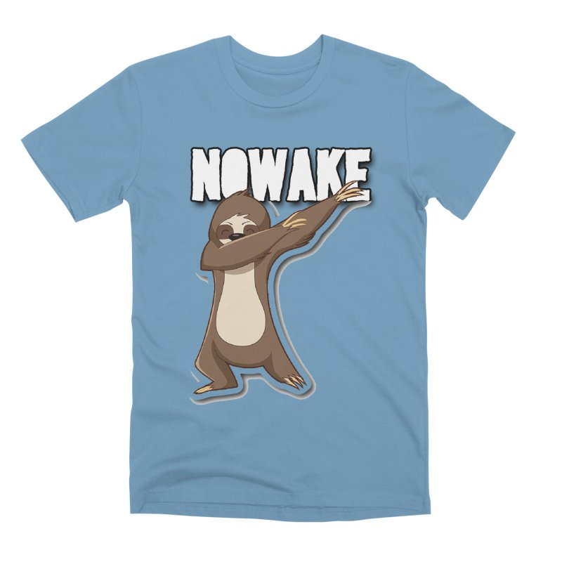 NOWAKE Dabbing Sloth Men's Premium T-Shirt by NOWAKE's Artist Shop