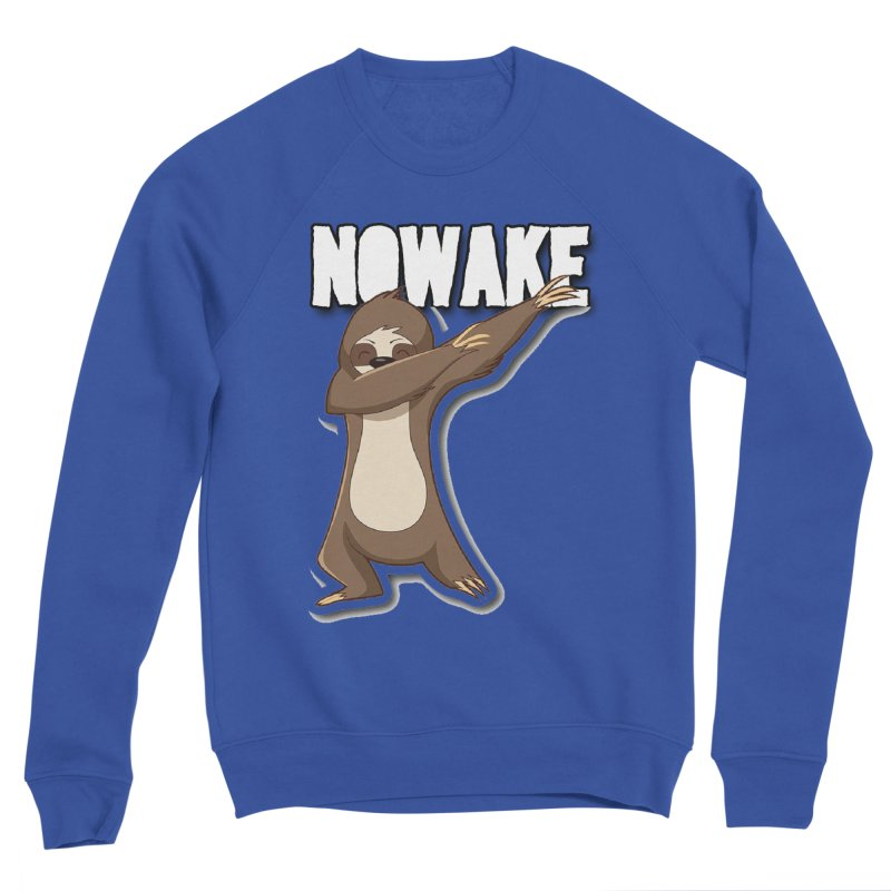 NOWAKE Dabbing Sloth Women's Sponge Fleece Sweatshirt by NOWAKE's Artist Shop