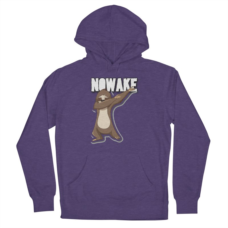 NOWAKE Dabbing Sloth Men's French Terry Pullover Hoody by NOWAKE's Artist Shop