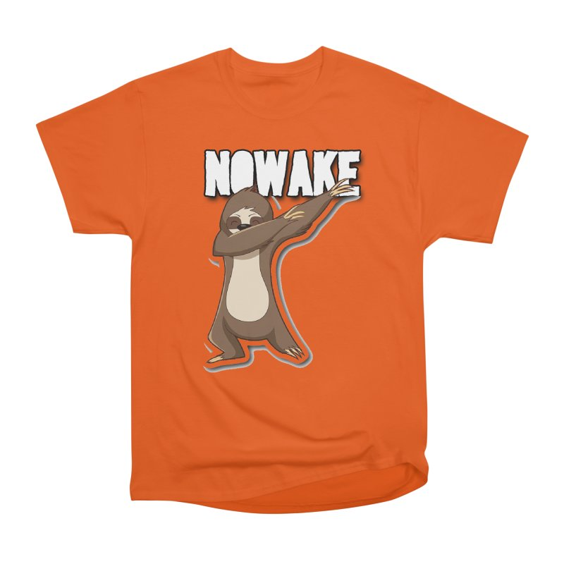 NOWAKE Dabbing Sloth Women's Heavyweight Unisex T-Shirt by NOWAKE's Artist Shop