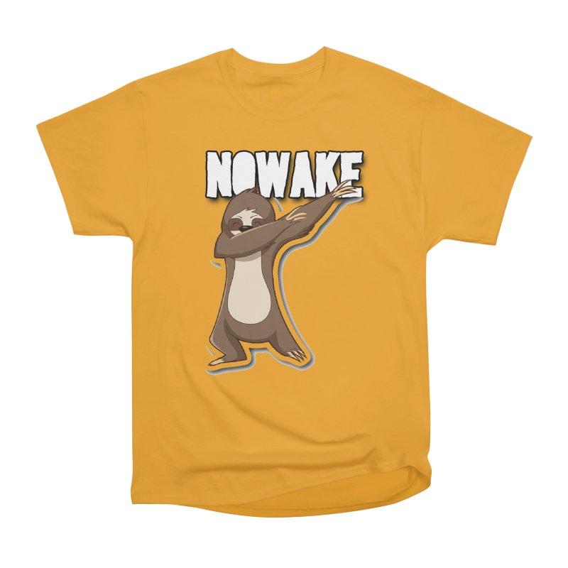 NOWAKE Dabbing Sloth Men's Heavyweight T-Shirt by NOWAKE's Artist Shop